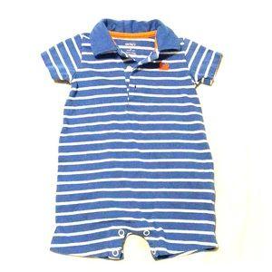 CARTER'S Baby Boys Jersey Striped Romper